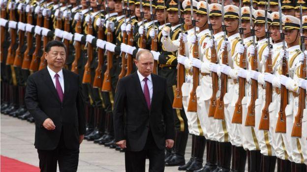 Nga, Trung Quốc, Việt Nam