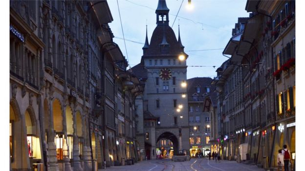 Berna, na Suiça