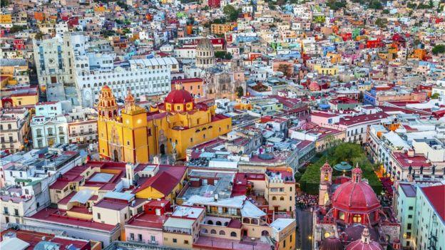Paisaje de Guanajuato