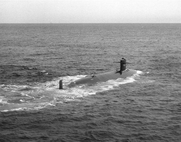Submarino Thresher (Foto: US Naval Historical Center)