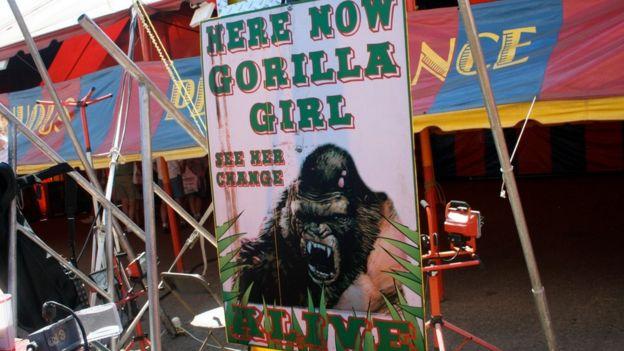 Cartaz de circo norte-americano