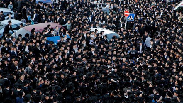 تجمع للحريديم في إسرائيل