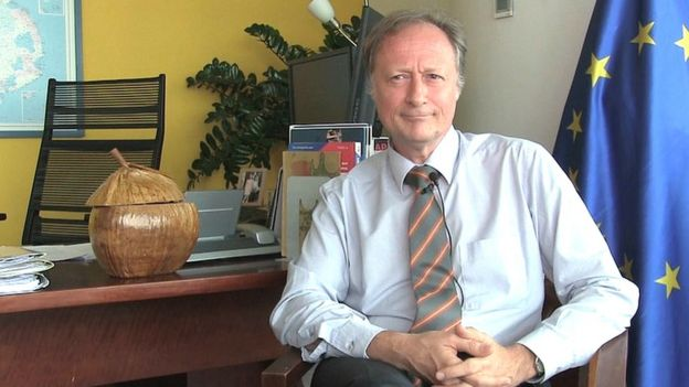 Đại sứ Bruno Angelet, Trưởng Phái đoàn Liên minh Châu Âu tại Việt Nam