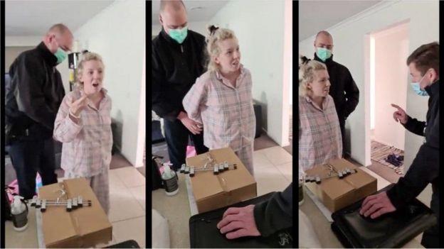 Арест беременной женщины