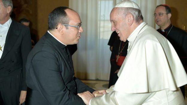 Padre Rafhael Maciel e papa Francisco