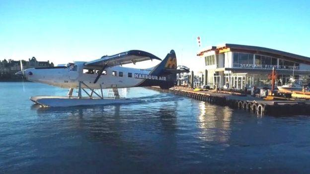 Avião da Harbor Air