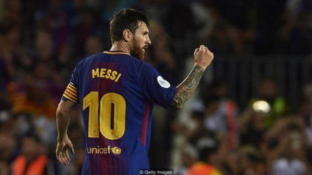 Lionel Messi có điều khoản mua đứt trong hợp đồng với giá 300 triệu euro ghi trong hợp đồng với Barcelona