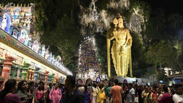 பத்துகேவ் தைப்பூச விழா : மலேசியா
