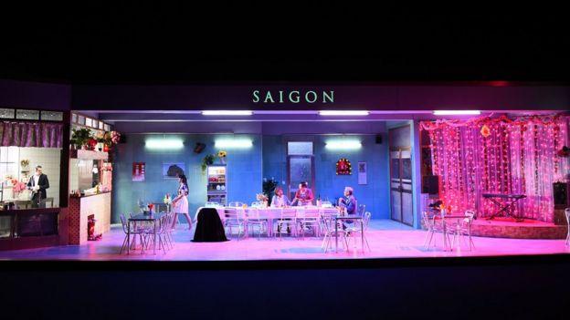 Vở kịch 'Saigon'
