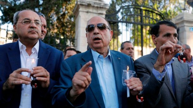 Arap kökenli milletvekillerinden Ahmed Tibi