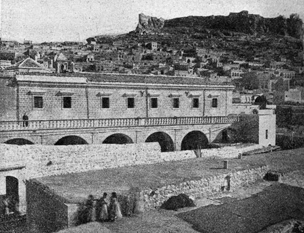 Capuchin friars in Mardin and the Franciscan monastery
