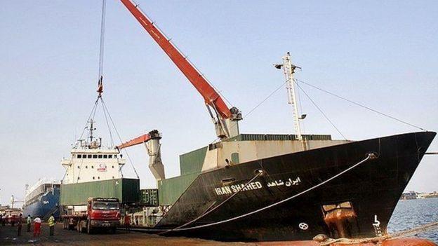 کشتی ایران شاهد