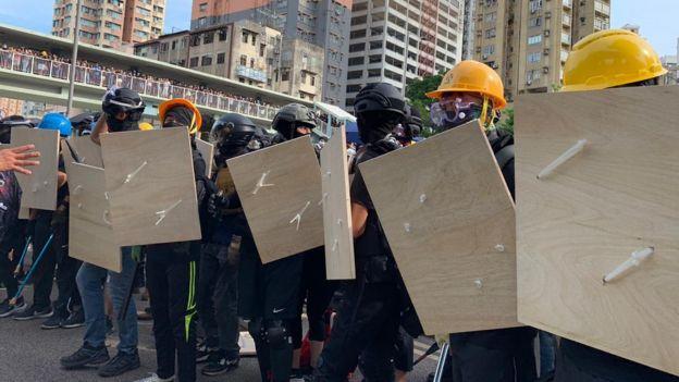元朗示威者