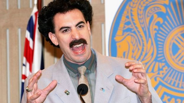 9ec26325105e5 Actor Sacha Baron Cohen appears in character as Kazakh journalist Borat  Sagdiyev
