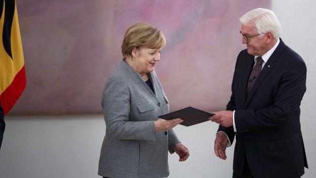 Меркель и Штайнмайер