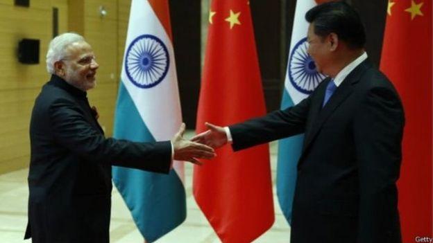 2015年莫迪訪問中國