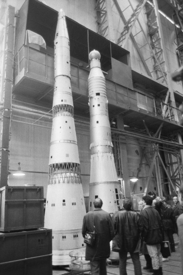 Макет ракеты Н1