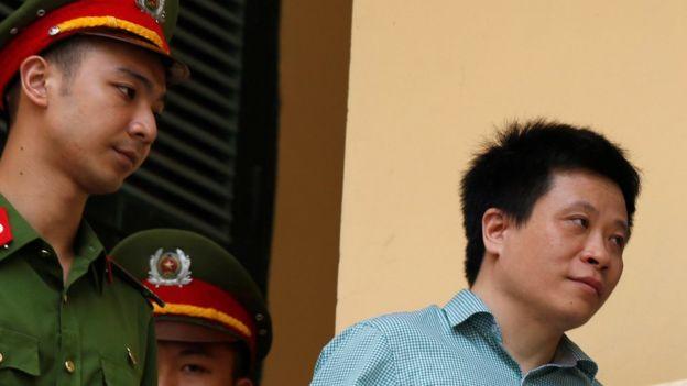 Ông Hà Văn Thắm vào ngày cuối phiên tòa, 29/9/2017