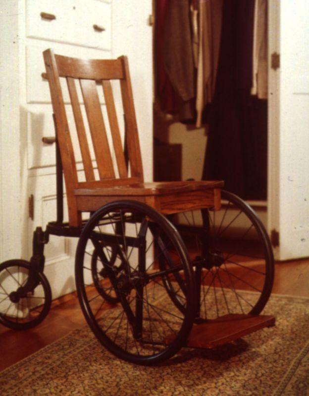 Cadeira de rodas de Franklin Roosevelt