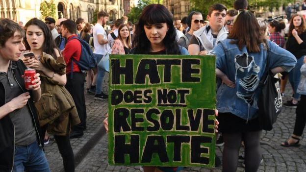 Vigilia en Manchester