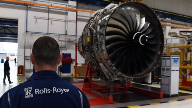 Roll-Royce Derby plant