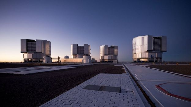 Astronomlar Şili'deki Very Large Telescope'u (Çok Büyük Teleskop) kullandı