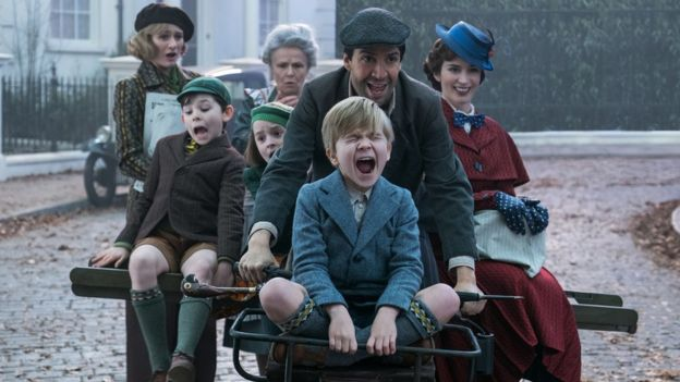 Mary Poppins Returns cast defend 'forgettable' songs - BBC News