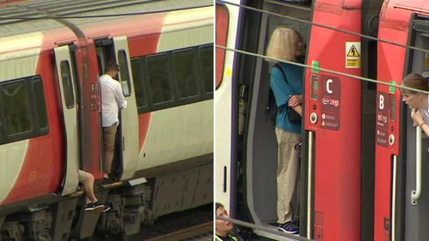UK heatwave: Rail passengers stranded near Peterborough