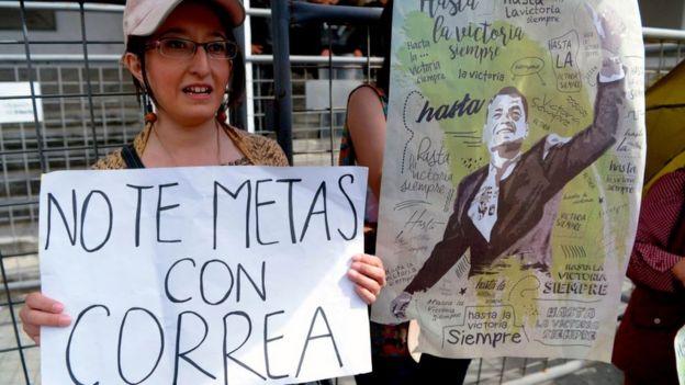 Protesta en Quito