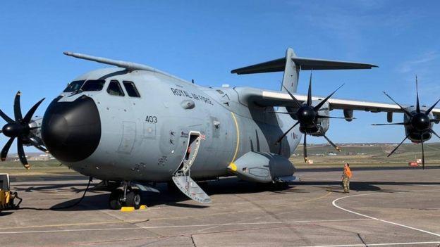 Kraliyet Hava Kuvvetleri uçağı