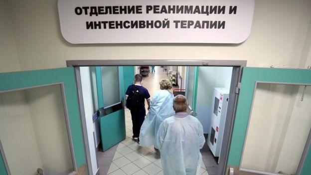 Unidad intensiva rusa.