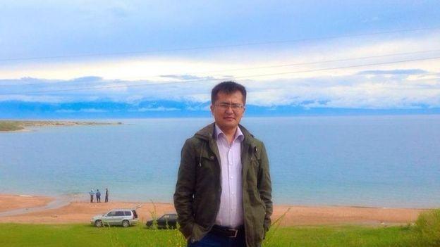 Кыргыз мигранты Азизбек
