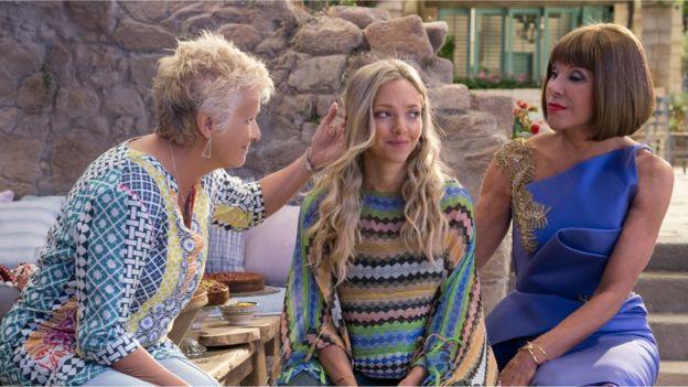 a2469a4e94d877 6 shocks from the Mamma Mia 2 trailer - BBC News