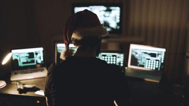 Christmas hacker