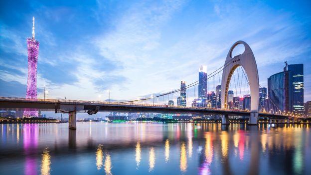 Ciudad de Guangzhou.
