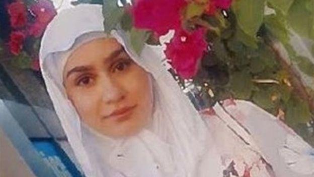 الشابة اللبنانية آية هاشم