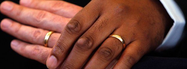 Heterosexual marriage images