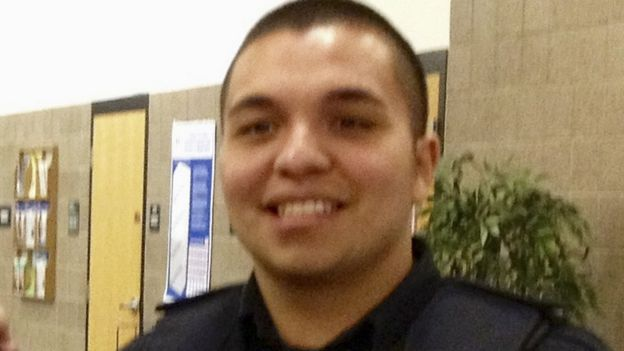 File image of St Anthony police officer Jeronimo Yanez