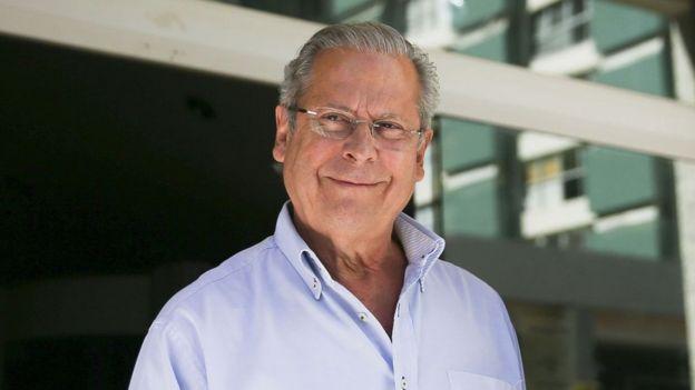 Ex-ministro da Casa Civil José Dirceu foi acusado de chefiar o mensalão