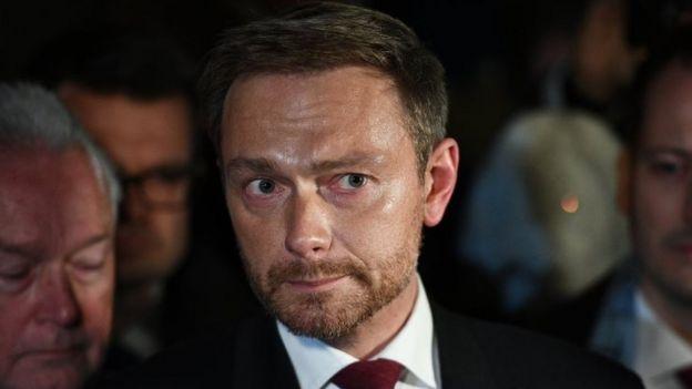 FDP líder Christian Lindner.