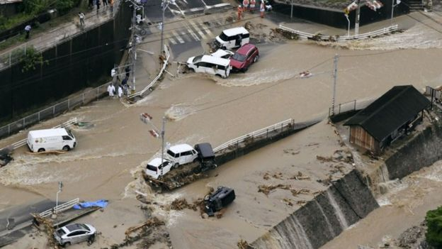 "Результат пошуку зображень за запитом ""паводок в Японії 2018"""