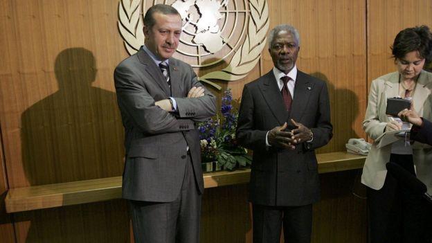 Kofi Annan ve Cumhurbaşkanı Erdoğan