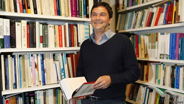 O economista Thomas Piketty