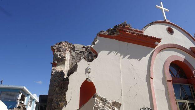 Iglesia de la Inmaculada Concepción, en Guayanilla.