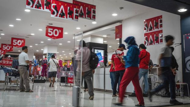 Centro comercial de Yakarta