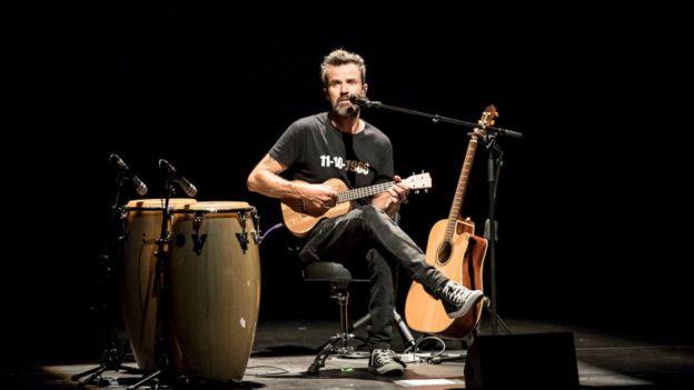 Pau Donés en mayo de 2017.