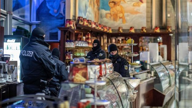Mafia raids across Europe target 'Ndrangheta group