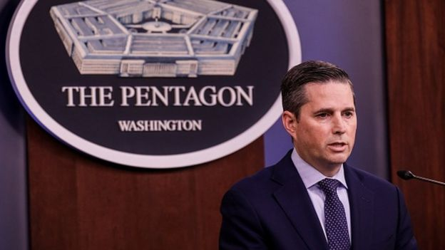 Pentagon Sözcüsü Jonathan Hoffman