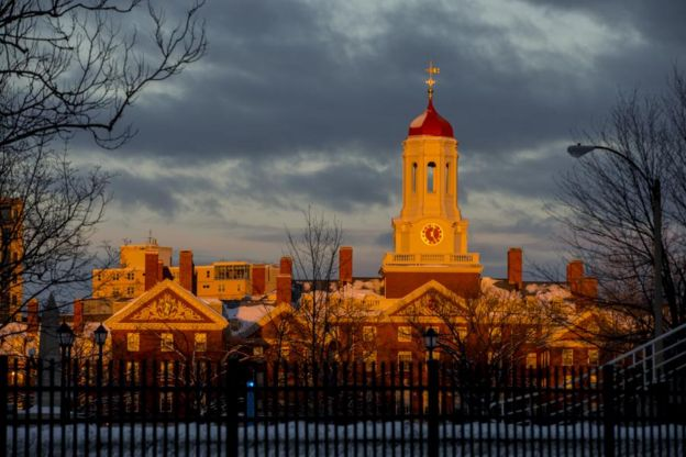 Universidade de Harvard, nos Estados Unidos