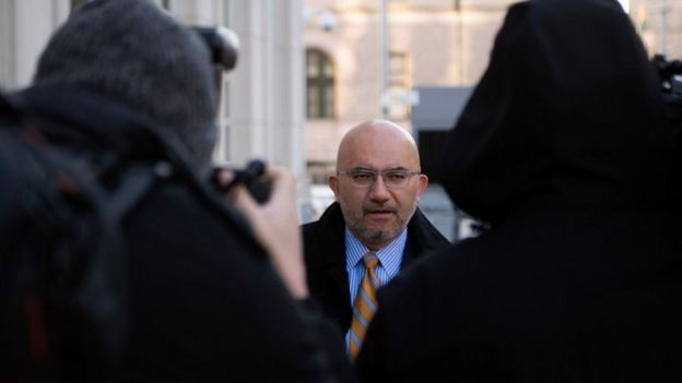 """Eduardo Balarezo, uno de los abogados de """"El Chapo""""."""